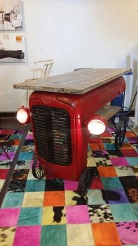 Tractor Front Table