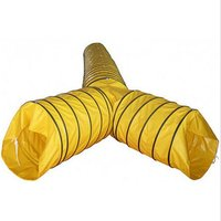PVC flexible duct dual or triple outlet