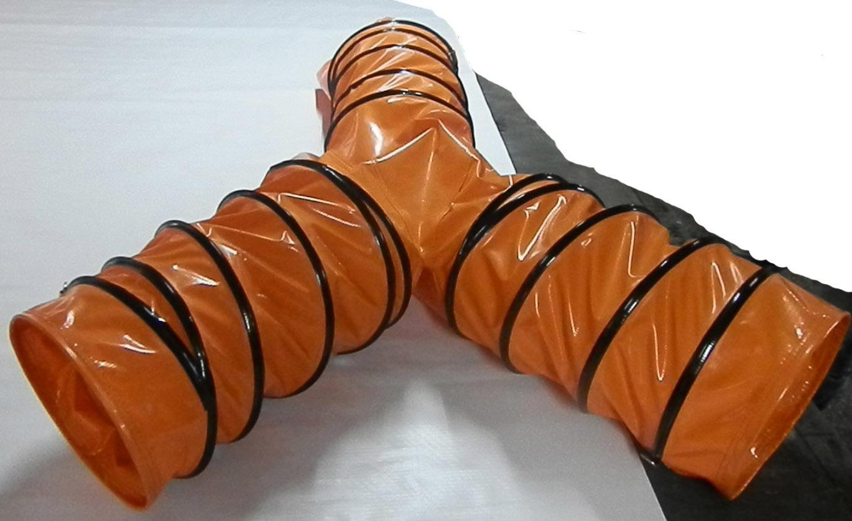 PVC flexible duct dual or triple outlet