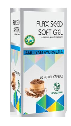 Flax -Seed Soft Gel Capsule