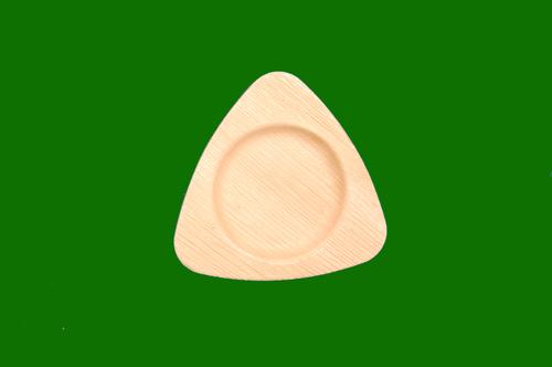 Areca Triangle Plate