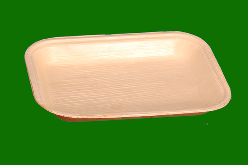 Areca Leaf Rectangle Bowl 8 x 5.5