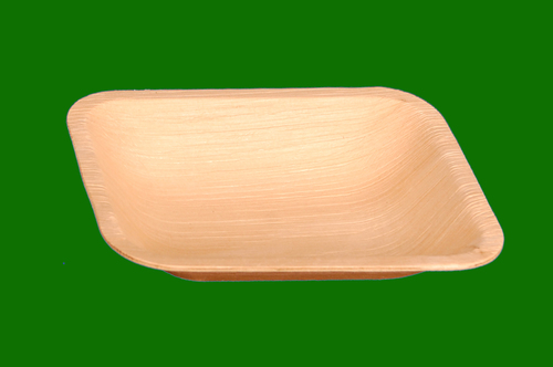 Areca Leaf Rectangle Bowl 6.5 x 5