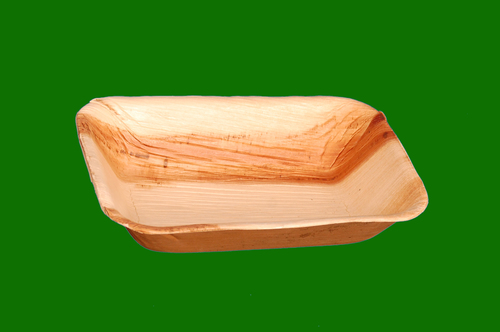 Areca Leaf Rectangle Deep Bowl 7.5 x 5
