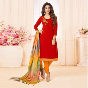 Hand Work Embroidery Salwar Suit