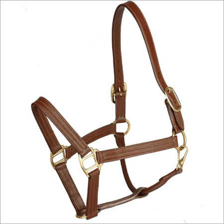 Designer Leather Halter