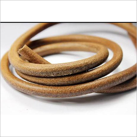 Braided Leather Cord