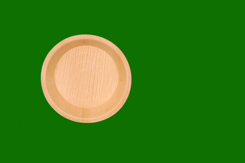 Areca Round Deep plate 8inch