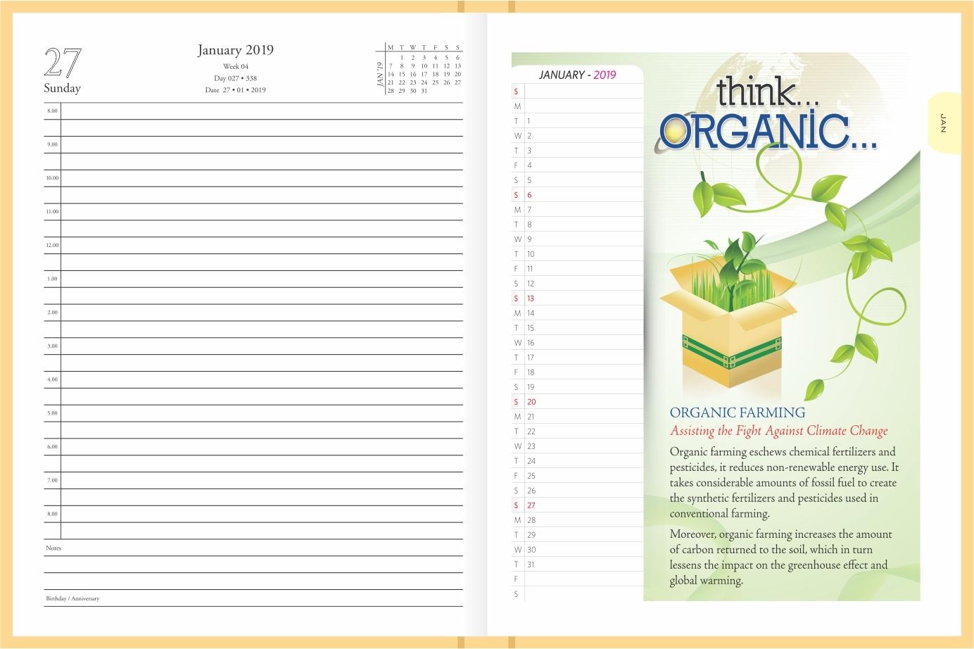 Think Organic Diary