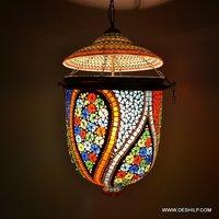 DECORATIVE GLASS WALL HANGING
