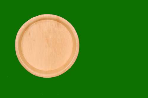 Areca Round Deep Plate 10inch