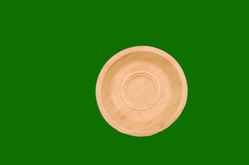 Areca Round Shallow Plate 8inch