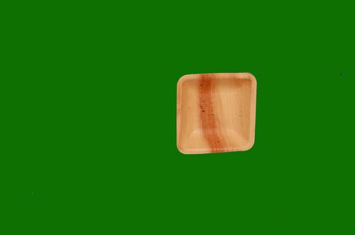 Areca Leaf Square Bowl 4.5inch