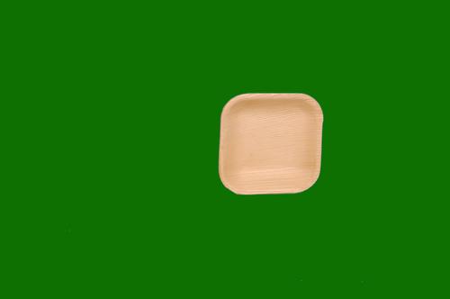 Areca Square Plate 4.5inch