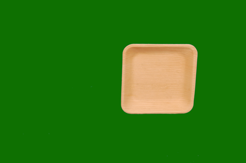 Areca Square Plate Deep 6.5inch