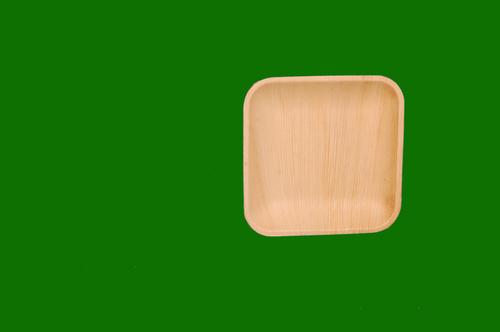Areca Square Plate 7inch