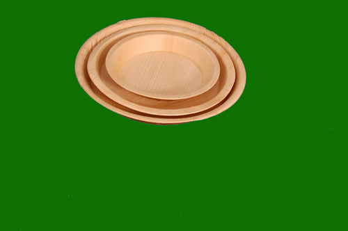 Areca Round Deep plates in  All Sizes