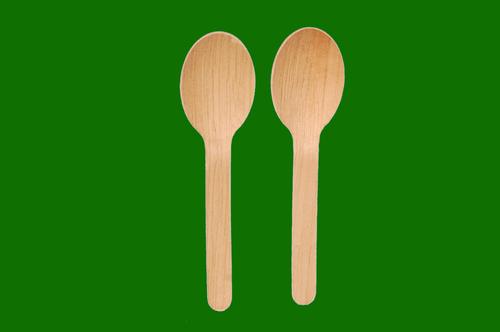 Areca Leaf Flat Spoon 5.5inch