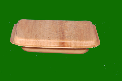 Areca Lunch Box or Food Box with Lid 8 x7 Bottom and 9 x 7.5  Top