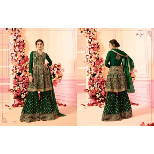 Ladies Green Lehenga