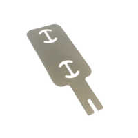 2P 0.2mm Pure Nickel Tab