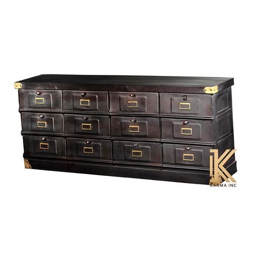 Wooden Chest Cabinet