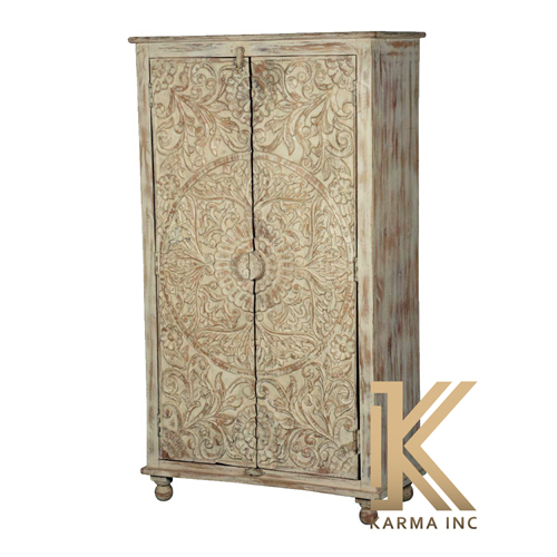 Wooden Carving Wardrobe