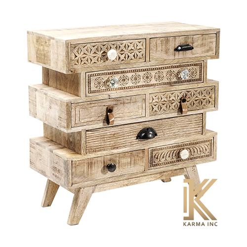 Wooden Designer Chest Drawer