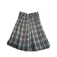 Checked School Skirt