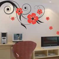 Floral Wall Painting