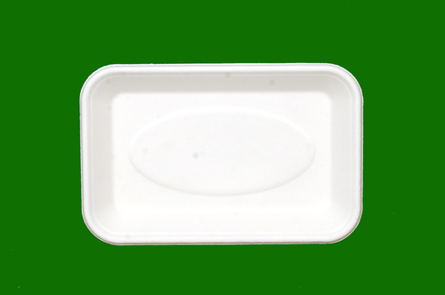 Sugarcane Bagasse Rectangle Plate 8.5 x 5.5