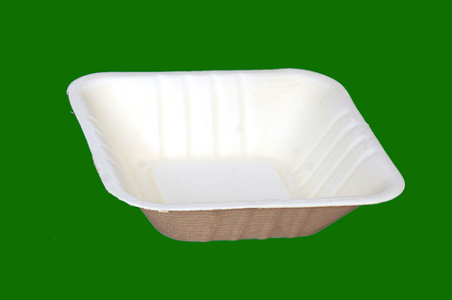 Sugarcane Bagasse Square Bowl