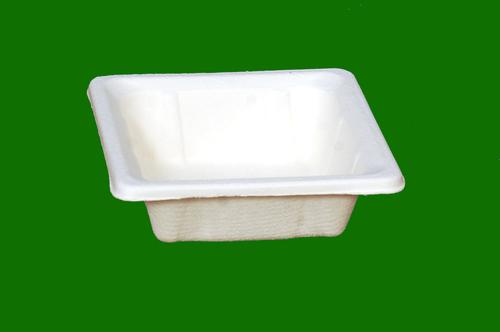 Sugarcane Bagasse E Square Bowl 4inch