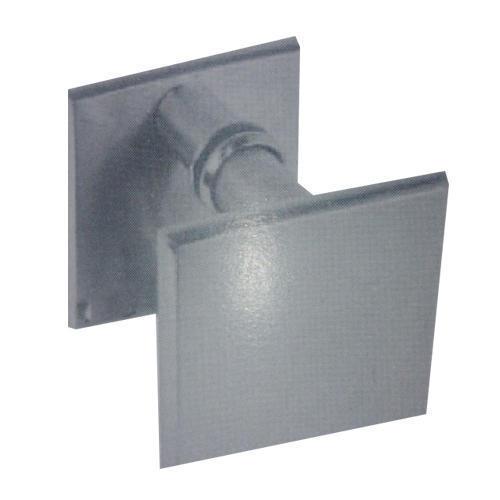 Square Back Plate Door Handles