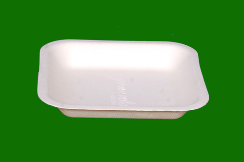 Sugarcane Bagasse Square Plate 5.5inch