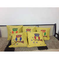 Hand Painted Cushion Cover
