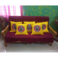 Hand Painted Sofa Cover