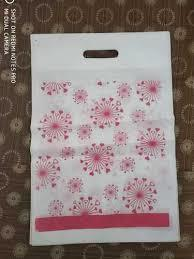 D Cut Flower Printed Bag