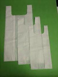 U Cut White Bag