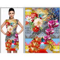 Ladies Kurti Floral Print Service