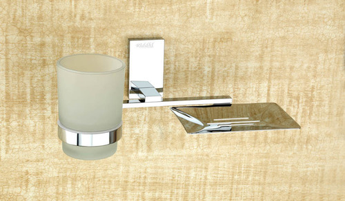 CP Soap Dish With Tumbler Holder