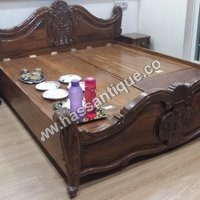Antique Teakwood Bed
