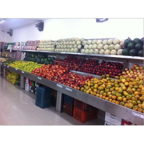 Supermarket Steel Fruit Rack
