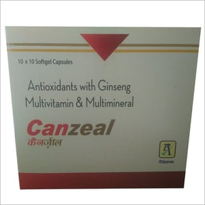 Antioxidant With Ginseng Multivitamin Multimineral Capsules