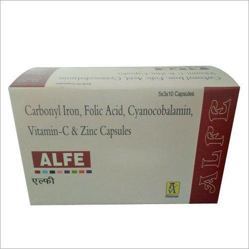 Carbonyl Iron & Folic Acid Capsules General Medicines