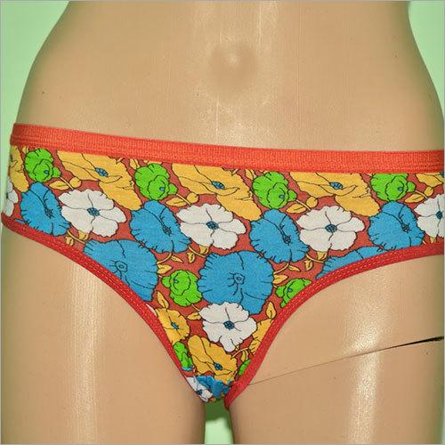 Flower Print Ladies Panties