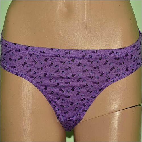 Purple Ladies Panty