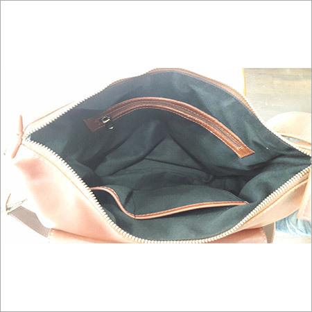 Branded Leather Handbag