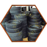Used Car Tyre Scrap