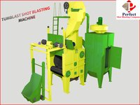 CONVEYOR BELT TYPE SHOT BLASTING MACHINE